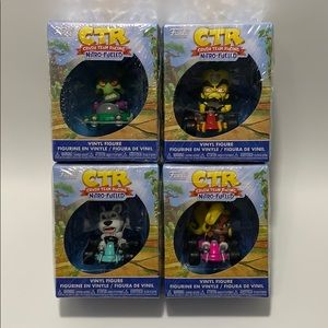 Lot of 5, CTR, Nitro-Fueled Vinyl Figure.